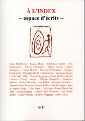 à l'index,à l'index 37,poésie,jean-claude tardif,jean-pierre chérès,henri pichette,lelivreadire.blogspot.com,le livre à dire